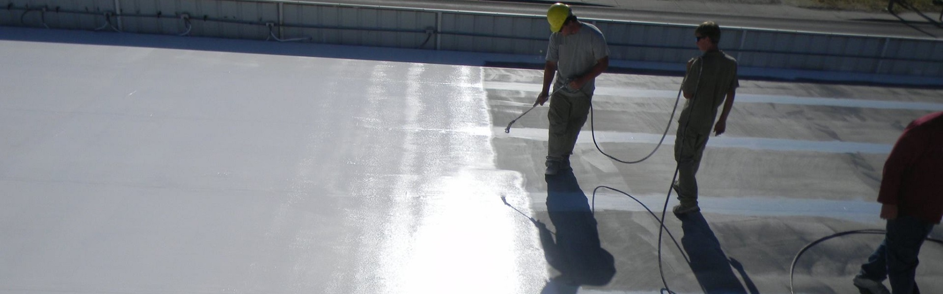 Spray On Silicone Roof Coating Houston - FLAT ROOF REPAIR SERVICE HOUSTON